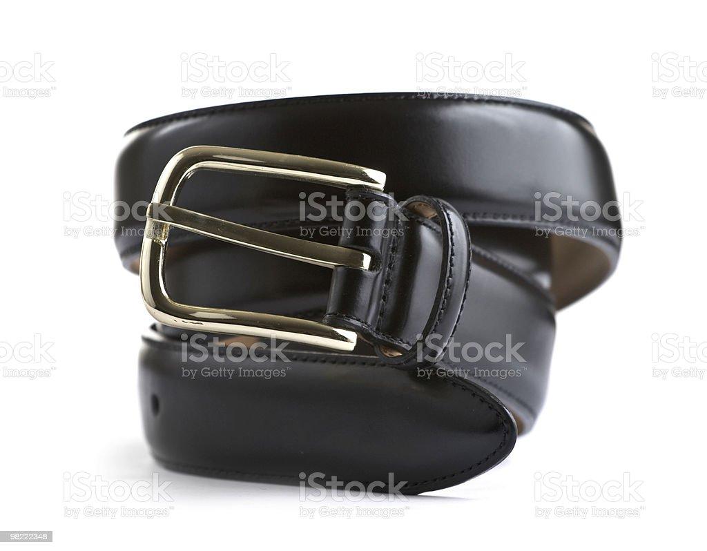 Cintura nera formale foto stock royalty-free