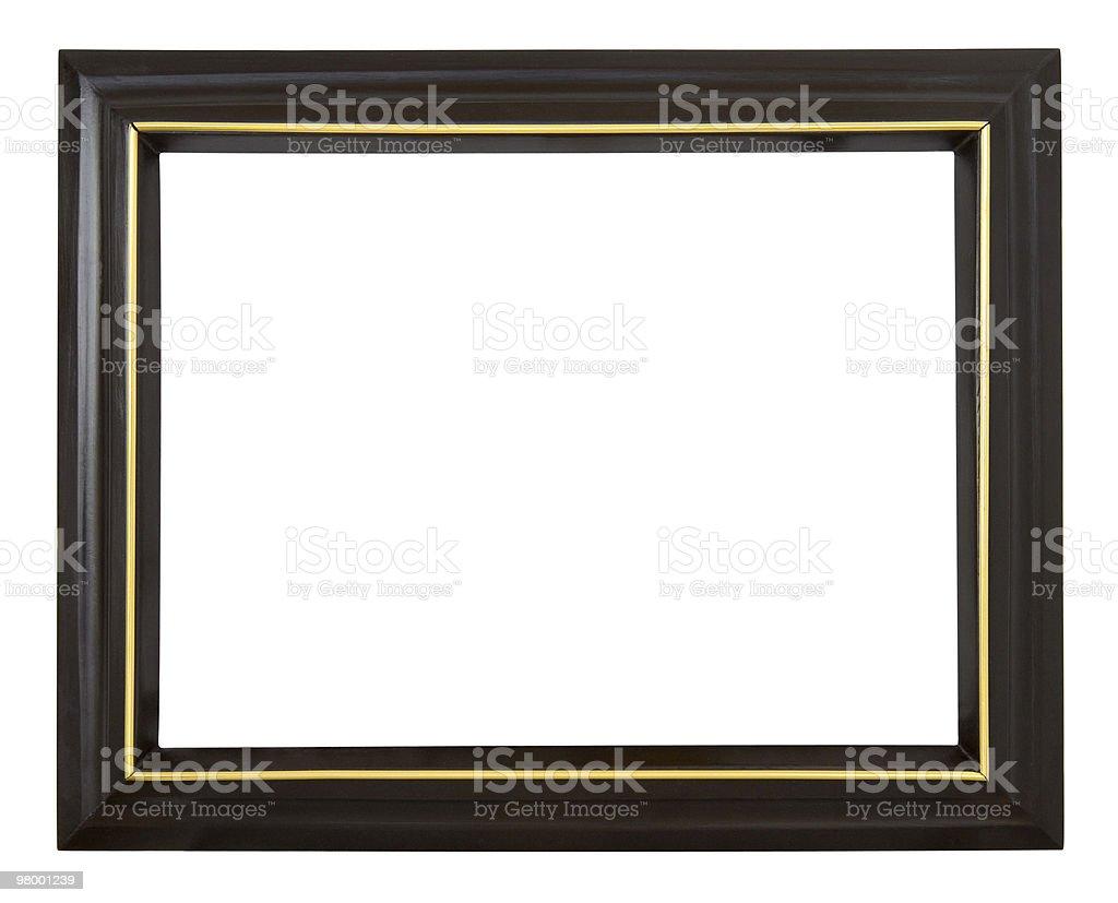 Black frame royalty free stockfoto
