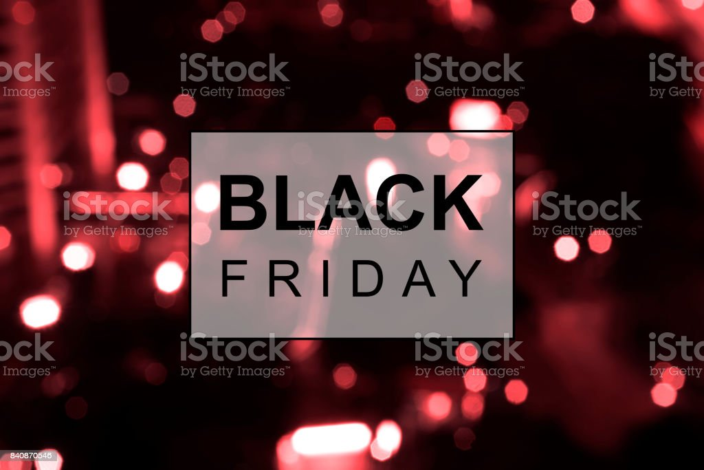 Black Friday banner – Foto