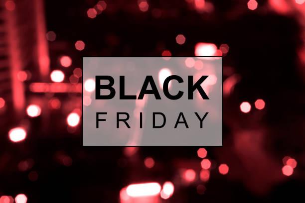 Black Friday banner stock photo