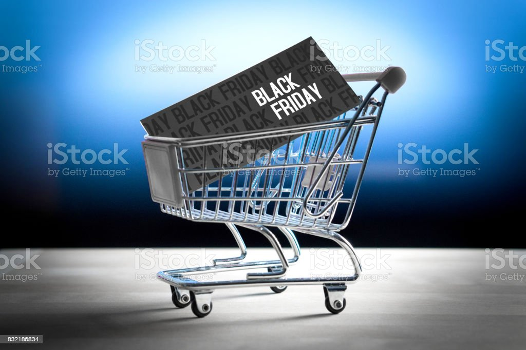 Black Friday Concept Grand Sale After Thanksgiving Online Shopping E Commerce And Internet Store Concept Miniature Shopping Cart With Www Letters Stock Photo Download Image Now Istock