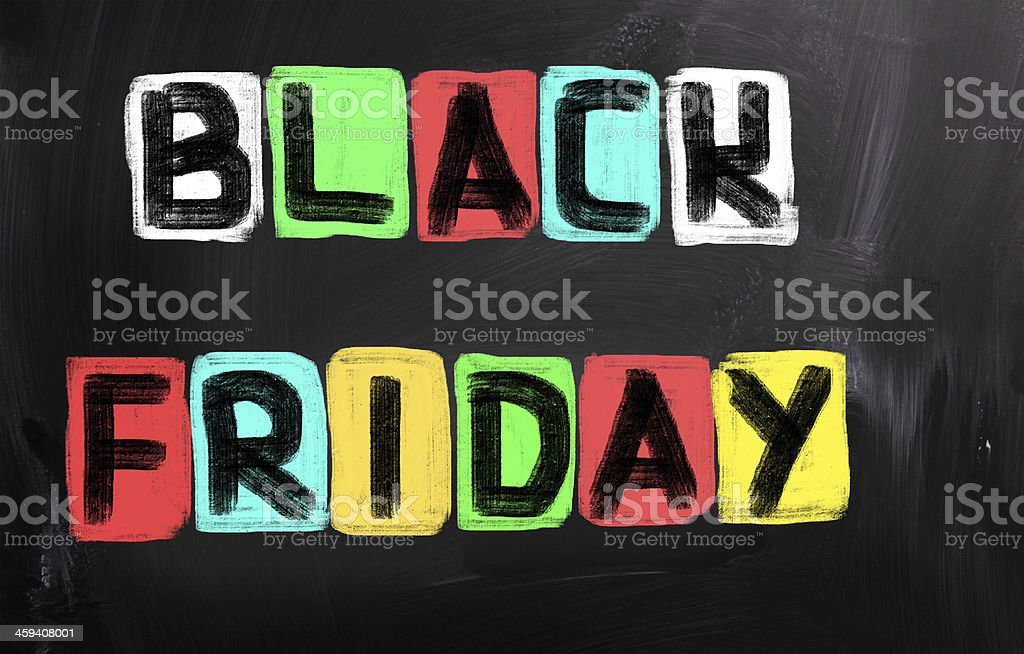 Black Friday Concept royalty-free stock photo