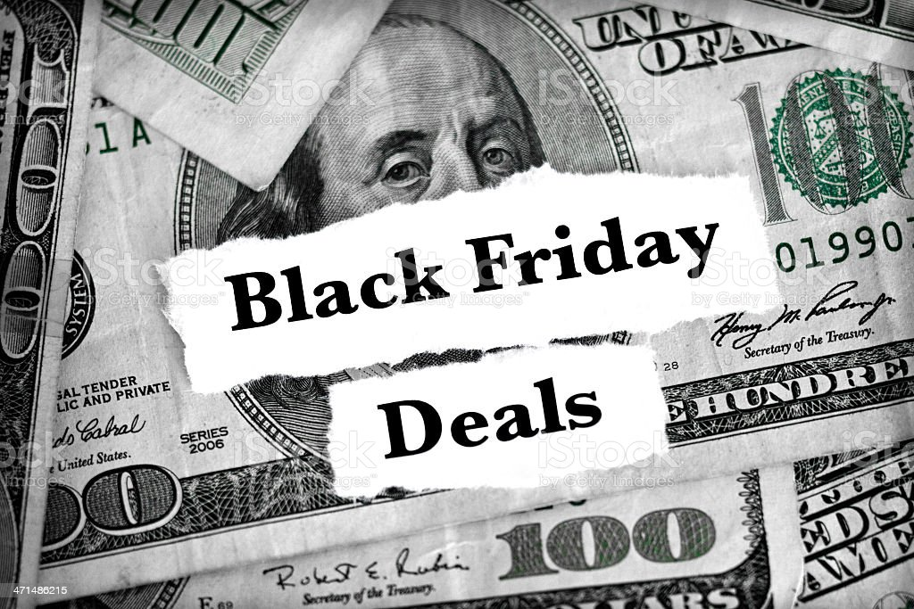 black friday deals royalty-free stock photo