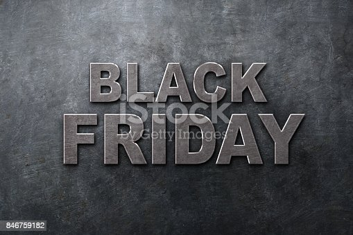 istock Black Friday in the streets of the city 846759182