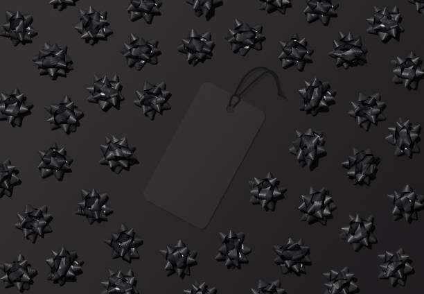 Black Friday label background for promotion or sale mockups stock photo