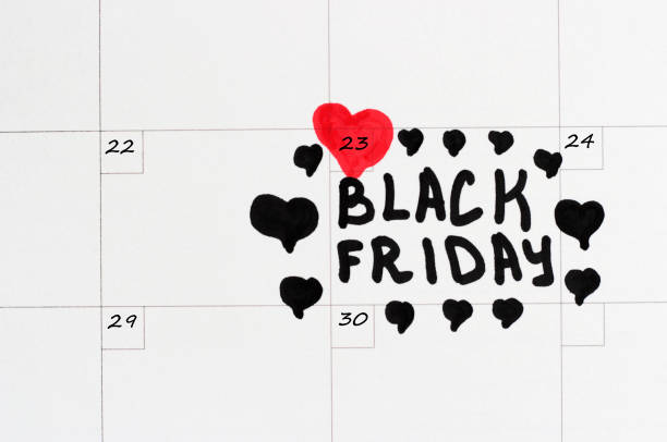 black friday, november 23, 2018 - number 23 stock photos and pictures