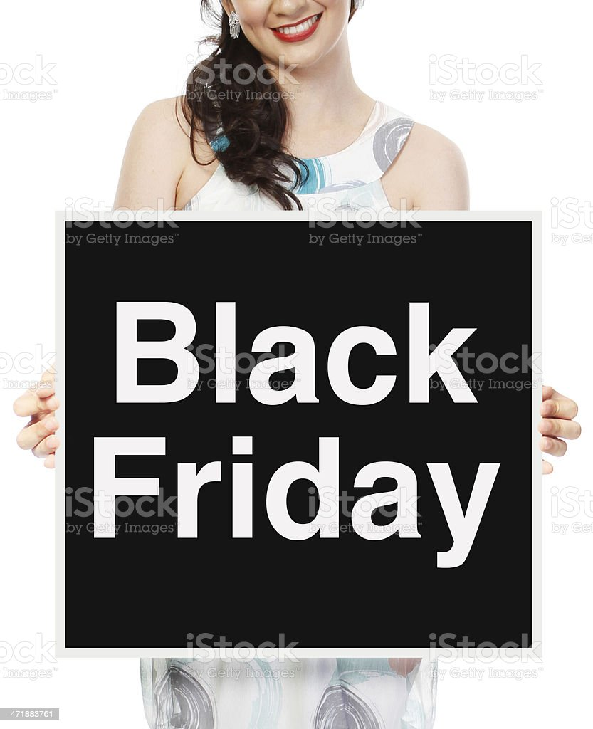 Black Friday royalty-free stock photo