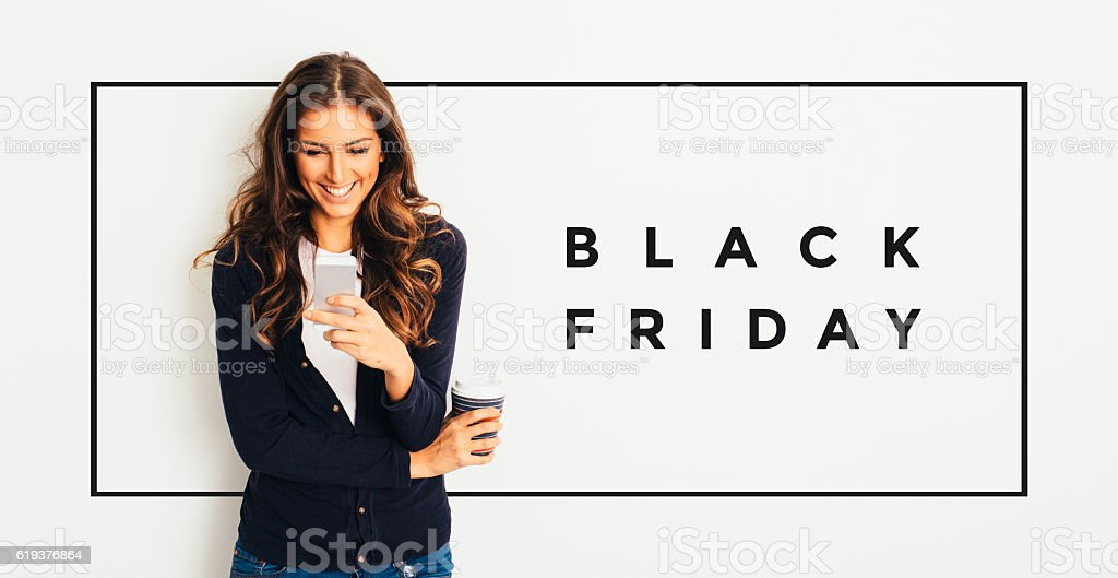 Black Friday stock photo