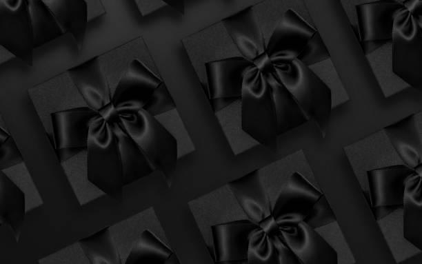 black friday présente plat laïc - black friday photos et images de collection