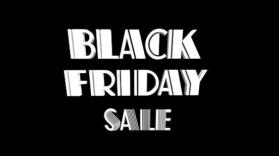 istock Black Friday Sale 3D text, 1073648190