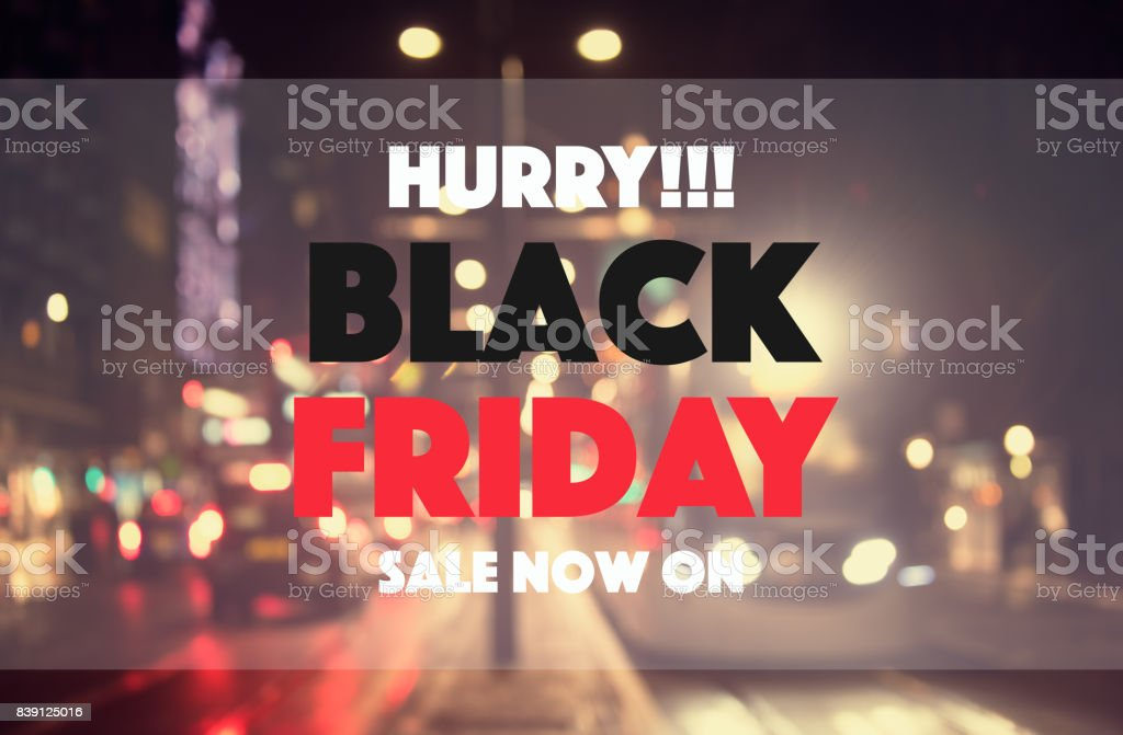 Black friday sale concept background stock photo