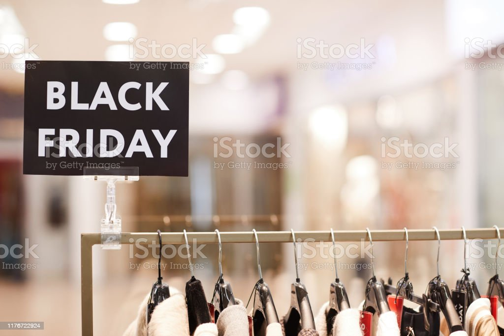Black Friday Sale In Clothing Boutique Stock Photo Download Image Now Istock