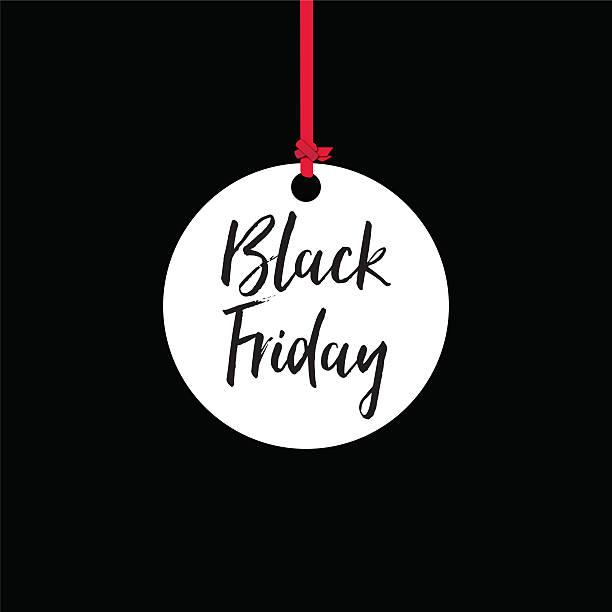 Black friday sales banner stock photo