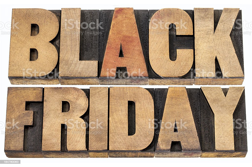 Black Friday shopping concept royalty-free stock photo