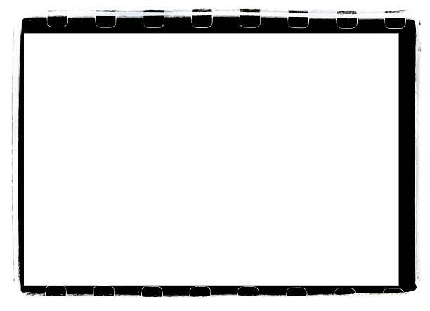 Black Full-Frame border from 35mm film stock photo
