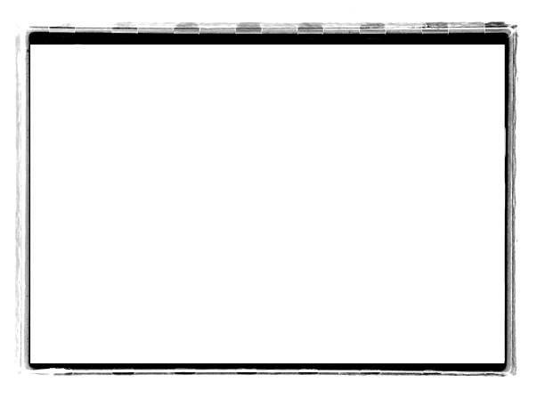 Black Full-Frame border from 35mm film #3 stock photo
