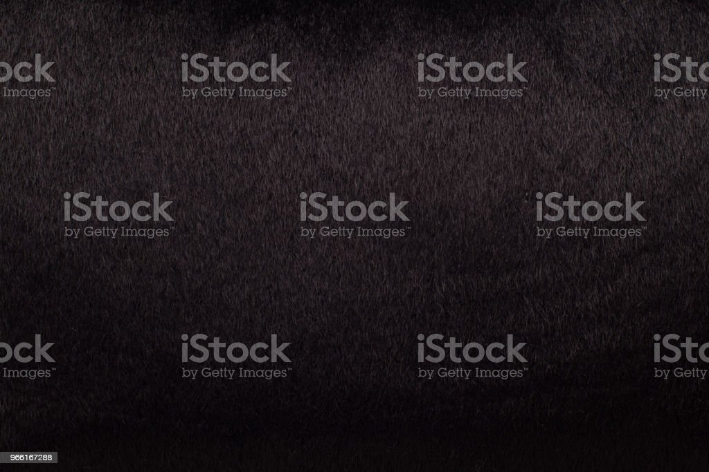 Black Fur - background. - Royalty-free Abstract Stock Photo