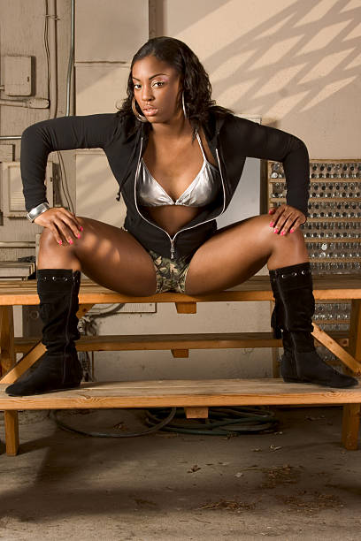 Best Women Spreading Legs Stock Photos, Pictures & Royalty