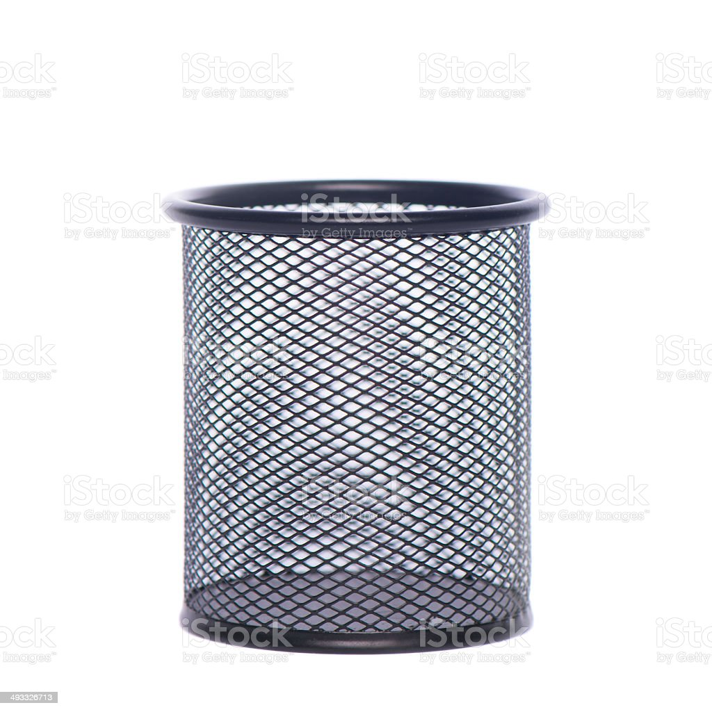 Black glass for pencil royalty-free stock photo