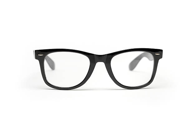 Black Glasses stock photo