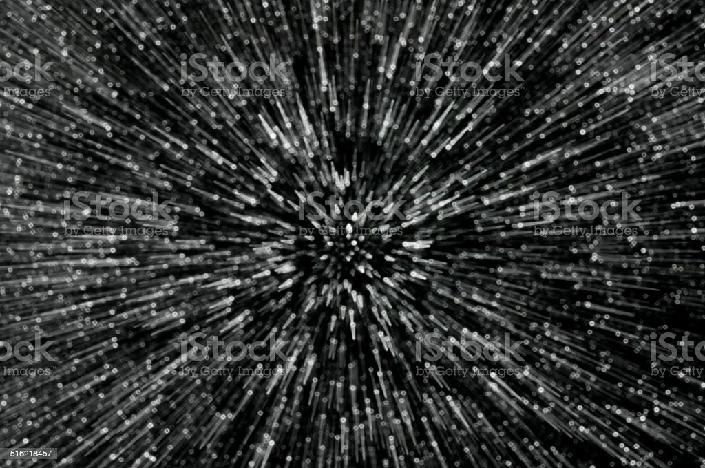 black glitter explosion lights abstract background stock photo