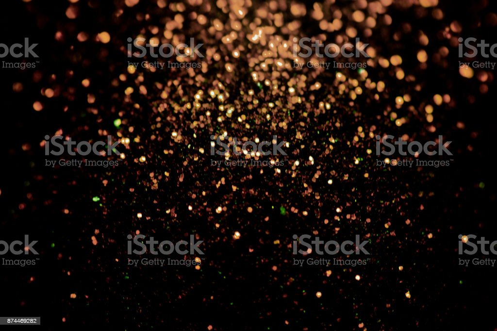 Black glitter sparkle background. Black friday shiny pattern with sequins. Christmas glamour luxury pattern, black christmas and glitter diamond background. Dark silver pattern. stock photo