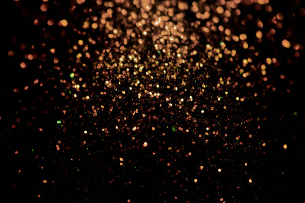 black glitter sparkle background. black friday shiny pattern with sequins. christmas glamour luxury pattern, black christmas and glitter diamond background. dark silver pattern. - awards ceremony stock photos and pictures
