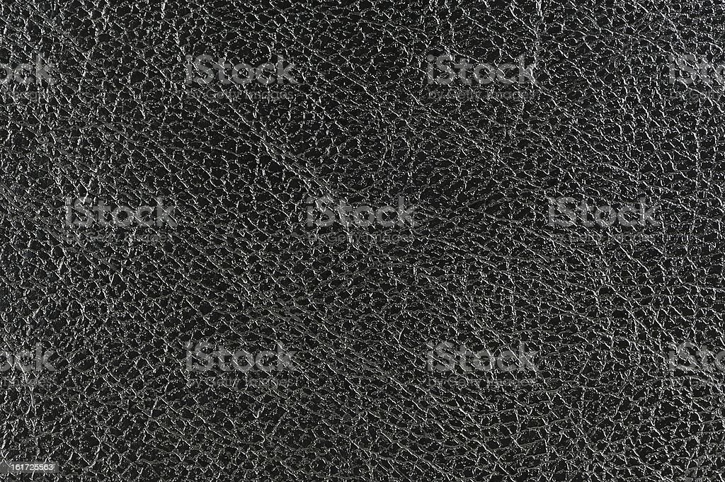 Black Glossy Leather Background Texture royalty-free stock photo