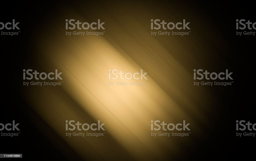 Black gold background with darker surface has a soft gradation with...