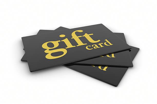 Noir Or cartes-cadeaux - Photo