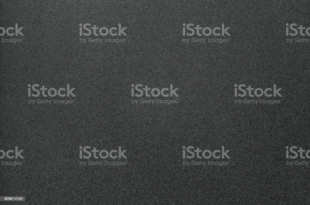 Black Grainy Plastic Background stock photo