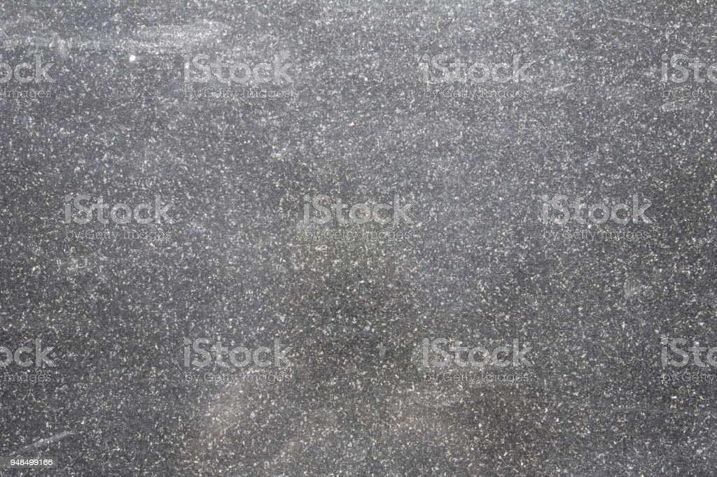 black granite with white gray and black stones stock photo