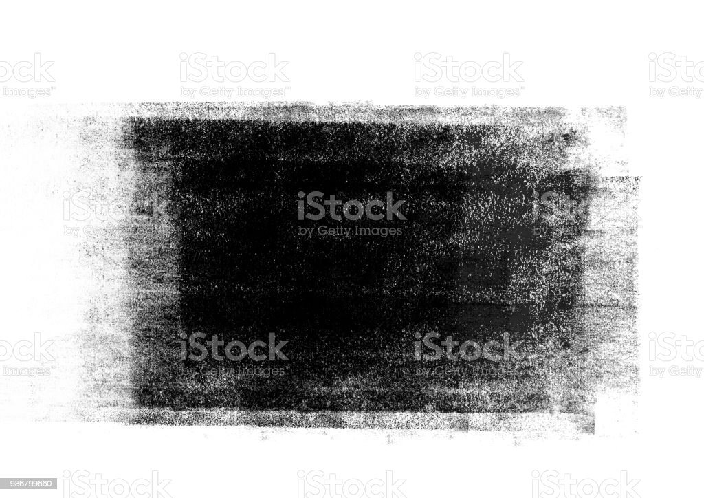 Black graphic color  patches graphic brush strokes design effect element for background foto stock royalty-free