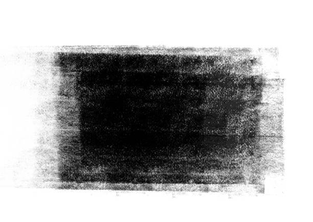 black graphic color  patches graphic brush strokes design effect element for background - ink stock pictures, royalty-free photos & images