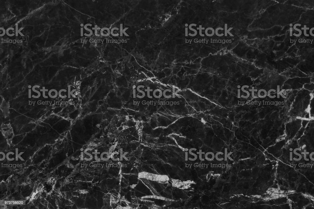 Schwarz Graue Marmor Textur Im Naturlichen Muster Mit Hoher