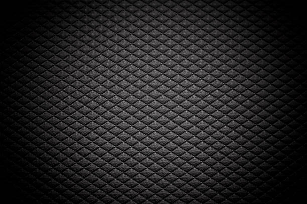 Black grid background stock photo