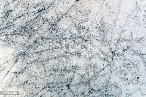 istock Black grunge scratch background textured 692483048