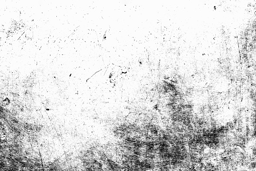 Black grunge texture background. Abstract grunge texture on distress wall in the dark. Dirty grunge texture background with space. Distress floor black dirty old grain. Black distress rough background
