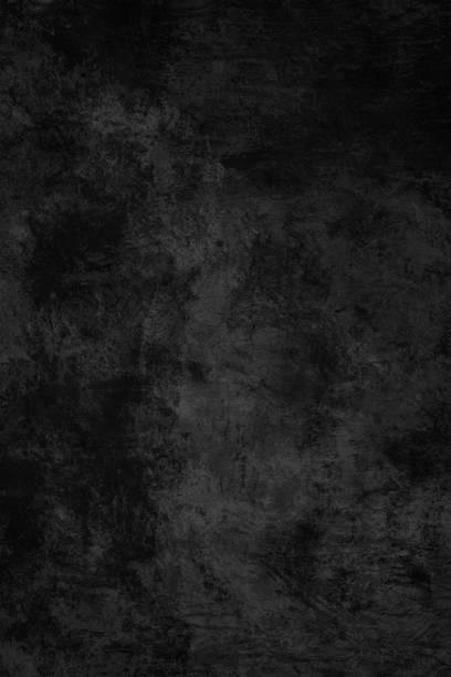 Schwarz grunge Texturen – Foto
