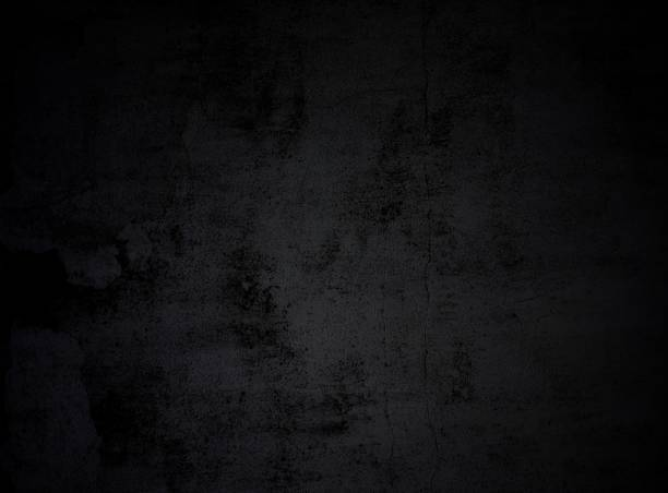 Black grunge texture stock photo