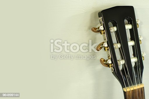 Black Guitar Vulture Stock Photo & More Pictures of Acoustic Guitar