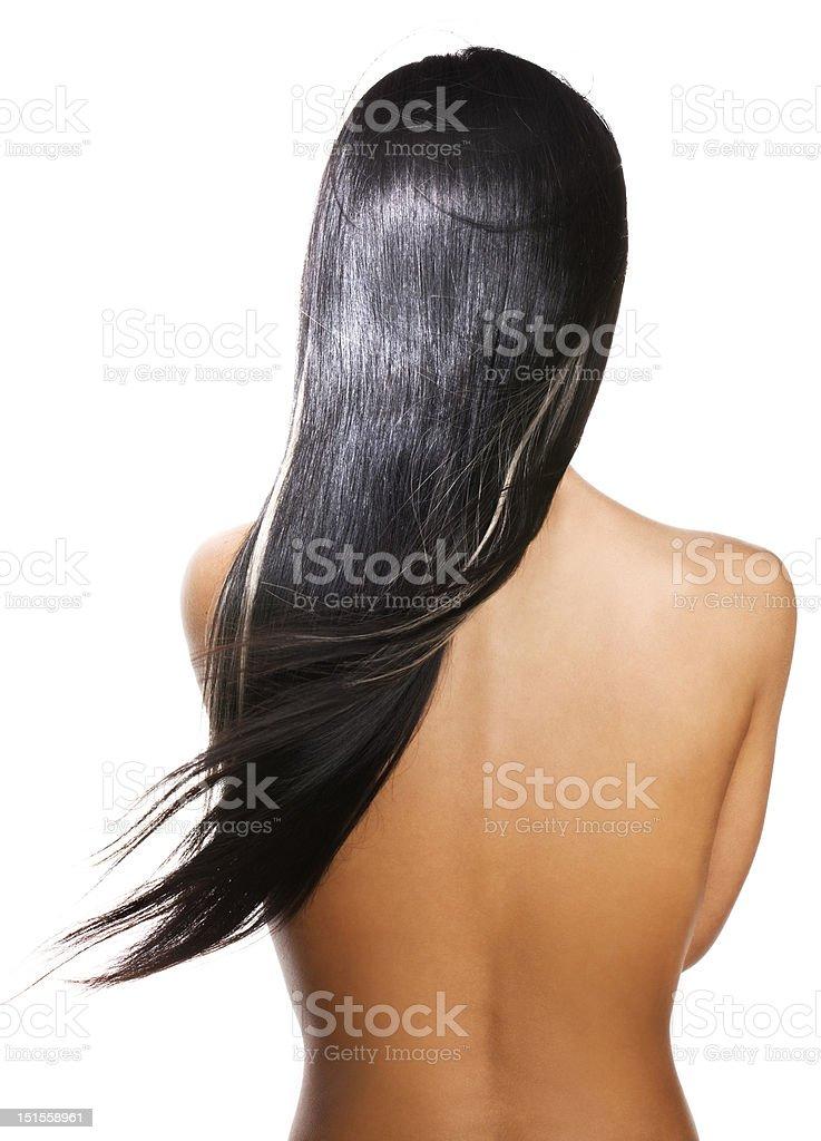 Schwarzes Haar – Foto