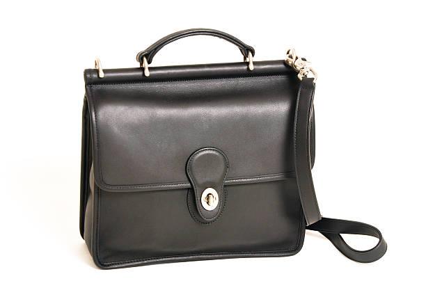 Schwarze Handtasche – Foto