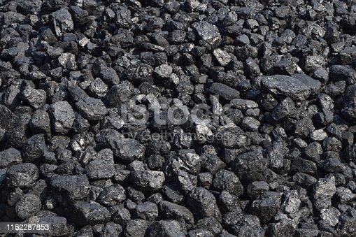 istock Black hard coal 1152287853