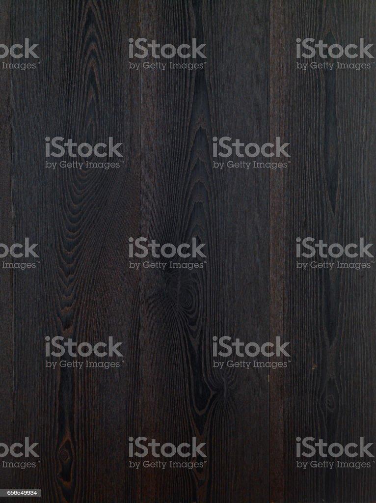 Black Hardwood Floor Background. Ash Tree Wood Texture. Wood Parquet. Dark  Ash Tree