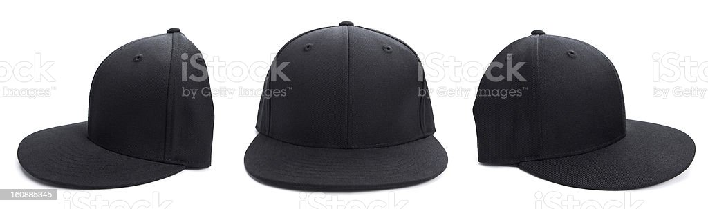 Black Hat at Different Angles stock photo
