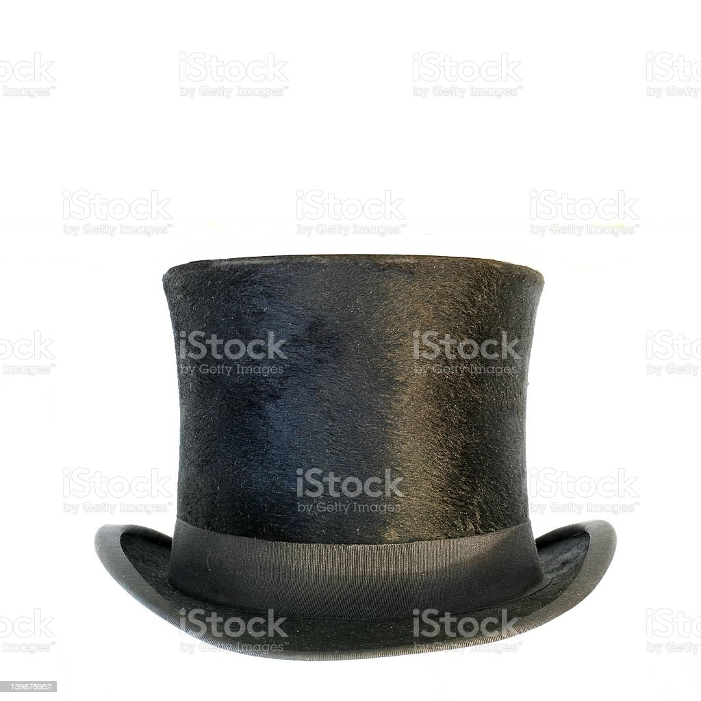 Black hat stock photo