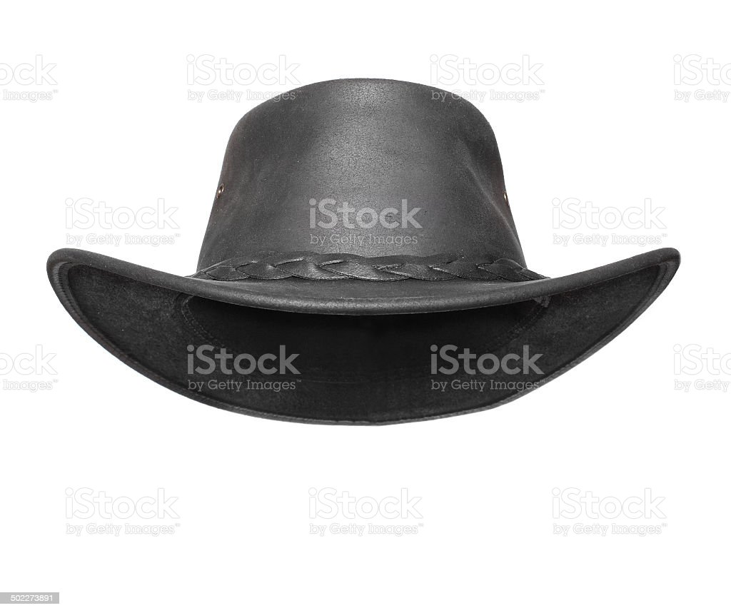 Black hat. stock photo