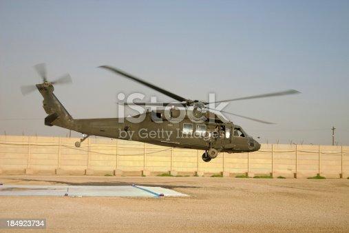UH-60 in Baghdad.