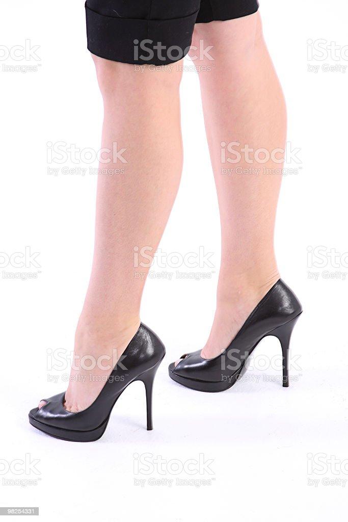 Black Heels royalty-free stock photo